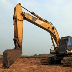 Use Of A Mobile Excavator